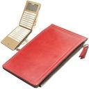 Etui na karty dokumenty portfel GALO 364 czerwony