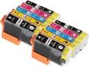10x Tusz Epson T2621 XP510 XP600 XP605 XP610 CHIP