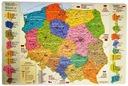 Podkładka na biurko - Mapa Administracyjna Polski