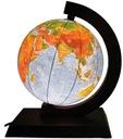 Globus 250mm 2w1 Podświetlany DREWNO ** NA PREZENT