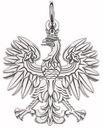 Zawieszka wisiorek orzeł w koronie SREBRO 925