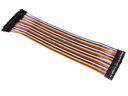 Przewody kable zworki żeńsko-żeński 10szt 20cm
