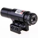 Celownik laserowy LASER CZERWONY montaż 11 - 22 mm
