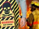 SUPER ZESTAW KUCHENNY FACETA WARNING MAN COOKING