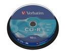Płyty VERBATIM CD-R 52x 700MB cake 10 sztuk extra!