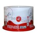 Płyty MAXELL DVD-R do nadruku BIAŁE printable 50