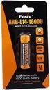 AKUMULATOR FENIX ARB-L14-1600U 14500 1,5V USB 786 Pojemność 1600 mAh