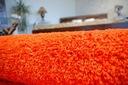 DYWAN SHAGGY 5cm 200x200 pomarańcz KAŻDY RO @10649 Materiał wykonania polipropylen