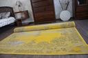 DYWAN VINTAGE 140x200 ROZETA żółty TRADYCJA #B100 Grubość 7 mm