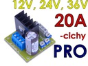 Regulator obrotów silnika DC softstart 12V-36V 20A Producent CAY Regulatory