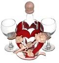 Prezent na 30 40 50 60 70 Serce Róża dla Kobiety