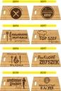 DESKA DO KROJENIA Z grawerem PREZENT dla babci Materiał wykonania bambus