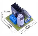 Regulator obrotów silnika DC softstart 12V-36V 20A Kod producenta M32N3