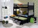 Łóżko piętrowe 3 osobowe AUGUSTO - NOWOŚĆ !!!
