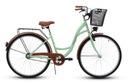 Damski rower miejski GOETZE 28 eco damka + kosz!!! Hamulce torpedo V-brake