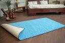 DYWAN SHAGGY SPHINX niebieski 80x100 cm MIĘKKI Kod produktu DYWAN123