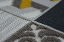 DYWAN LISBOA 120x170 PŁYTKI żółty / szary #B459 Przeznaczenie do wnętrz