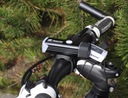 Przednia lampka ROWEROWA LED rower latarka USB Zasilanie akumulator