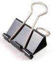 Klipy biurowe klip biurowy klipsy 25 mm 12 sztuk