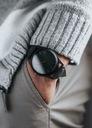 Zegarek męski czarny matowy elegancki klasyczny Typ naręczny