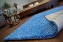 DYWAN SHAGGY 80x120 niebieski 5cm miękki @10235 Kolor odcienie niebieskiego