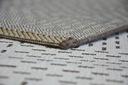 Dywan SIZAL 80x150 DWUKOLOROWY brąz beż #B768 Kolor kremowy odcienie brązowego