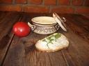 garnek,pojemnik do masła gliniany ,kamionka 0,4l