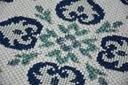 Dywan SIZAL 200x290 KWIATY biały/niebieski #B474 Marka Dywany Łuszczów