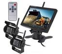 Bezprzewodowy monitor 2 kamery cofania optyka SONY