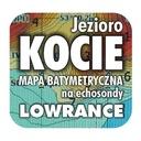 Jezioro Kocie mapa na echosondy Lowrance Simrad BG