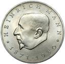 ГДР - 20 Марок 1971 - ГЕНРИХ МАНН - MENNICZA UNC доставка товаров из Польши и Allegro на русском
