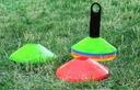 Pachołki Treningowe Elastyczne Grzybki Talerzyki Kolor dominujący wielokolorowy