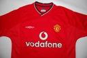 Koszulka oldschool Umbro Manchester United Roz 164 Właściwości brak