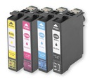 4x TUSZ DO EPSON EXPRESSION HOME XP235 XP332 XP335