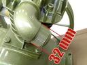 SPRĘŻARKA HV pompa powietrza kompresor olejowy Wydajność teoretyczna 900 l/min