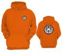 BLUZA DRAGON BALL GOKU DRAGONBALL NA PREZENT L Kolor pomarańczowy