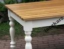 Dębowy stół dąb w stylu prowansalskim 180/90