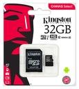 KINGSTON KARTA PAMIĘCI MICRO SD 32 GB CLASS 10 UHS Waga (z opakowaniem) 1 kg