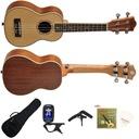 Ukulele Sopranowe Ever Play UK21-50 Pakiet XL