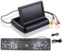 Zestaw Monitor składany 4,3+KAMERA COFANIA W RAMCE