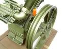 SPRĘŻARKA HV pompa powietrza kompresor olejowy Pojemność zbiornika 1 l