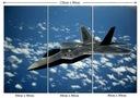 Obraz Lotnistwo Samolot Myśliwiec F-22 Raptor