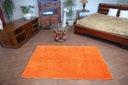 MIĘKKI DYWAN SHAGGY 5cm 100x150 pomarańcz @10640 Rodzaj shaggy