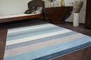 DYWAN NR 140x190 PASY krem szary niebieski #A138 Materiał wykonania polipropylen