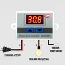 REGULATOR TEMPERATURY CYFROWY TERMOSTAT 110°C 230V Rodzaj sterownik