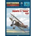 Kartonowa Коллекция 29 Самолет Sopwith F. 1 Camel доставка товаров из Польши и Allegro на русском