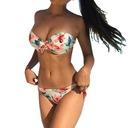 strój Bikini KWIATY floral KOLOROWE SEXY 18bk32 M Rozmiar M