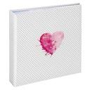 ALBUM LAZISE 10x15/200 pink 100 białych stron HAMA