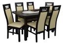 ada-meble SIERRA stół 80x140/180 i 6 KRZESEŁ NOWA#