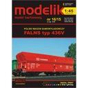 Modelik 16/15 - Wagon samowyładowczy FALNS 1:45